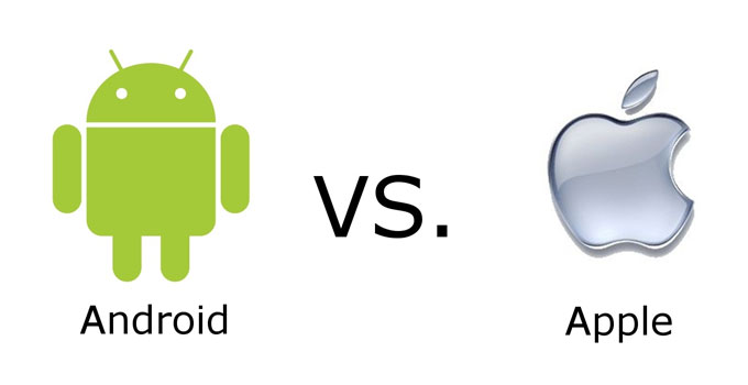 Android OS vs. Apple's iOS