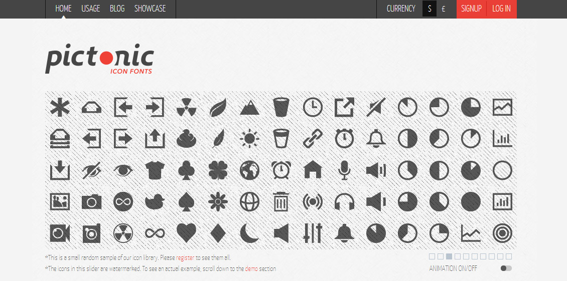 Pictonic - Icon Fonts Generator